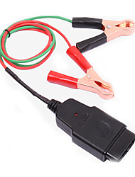 OBD II OBD2 Memory Saver Connector Cable with 2 Alligator Clips
