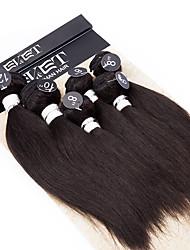 povoljno -Ljudske kose plete Brazilska kosa Egyenes 12 mjeseci kosa isprepliće