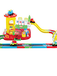 Educational Toy Parking Garage Toy Sets Toy Cars Train Toys Novelty Train Plastic Pieces Boys' Children's Day Gift