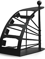 meilleur caddy sellingremotecontrol tv support / stockage - métal noir arqué