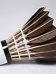 1 pezzo Badminton Volani piuma volani Basso spostamento d'aria Alta resistenza Elevata elasticità Durevole perAll'aperto Esercizi Tempo