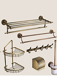 Bathroom Accessory Set Neoclassical Brass 140 63 Towel Bar Towel Ring Toilet Paper Holder Soap Dishes Bathroom Shelf Toilet Brush Holder