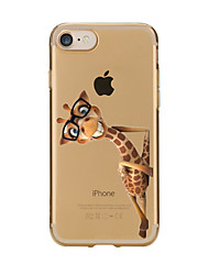 Per iPhone X iPhone 8 iPhone 7 iPhone 6 Custodia iPhone 5 Custodie cover Transparente Fantasia/disegno Custodia posteriore Custodia