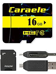 Caraele 16GB Micro-SD-Karte TF-Karte Speicherkarte UHS-I U1 Class10