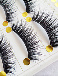 cheap -Eyelashes Full Strip Lashes Crisscross Natural Long Eyelash Full Strip Lashes Crisscross Natural Long Lifted lashes Volumized Curly