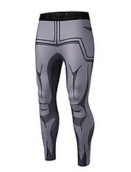 economico -Da uomo A vita medio-alta Attivo Sensuale Moda città Elasticizzato magro Attivo Pantaloni della tuta Pantaloni,Con stampe Poliestere Per