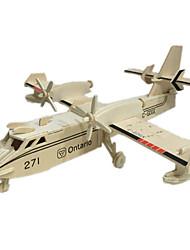 Недорогие -3D пазлы / Наборы для моделирования / Деревянные игрушки Летательный аппарат Оригинальные деревянный 1 pcs Мальчики / Девочки Подарок