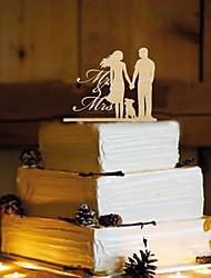 baratos -Decorações de Bolo Tema Borboleta Casal Clássico Resina Casamento com 1 PPO