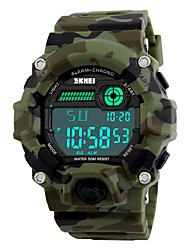cheap -Skmei® Men's LED Multifunction Digital Sports Watch 30m Waterproof