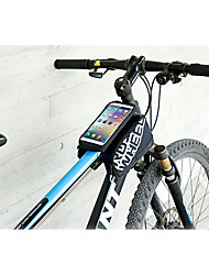 cheap -ROSWHEEL Cell Phone Bag Bike Frame Bag 5.5 inch Reflective Strip Waterproof Rain-Proof Wearable Touch Screen Phone/Iphone Cycling for