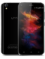 "UMi Diamond x 5.0 "" Android 6.0 Smartphone 4G ( Due SIM Quad Core 8 MP 13 MP 2GB + 16 GB Nero Oro )"