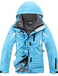 Per donna Giubbino da escursione Ompermeabile Tenere al caldo Antivento Fodera di vello Tuta da ginnastica tute per Sci Campeggio e