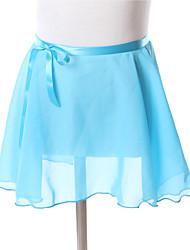 cheap -Kids' Dancewear Skirt Training Chiffon Skirt