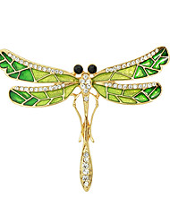 cheap -Women's Brooches Fashion Gold Green Jewelry For Casual