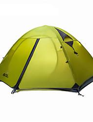 MOBI GARDEN 1 osoba Stříška Dvojitý Camping Tent jeden pokoj Malé stany Zahřívací Voděodolný Přenosný Větruvzdorné Odolný vůči UV záření