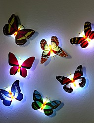 cheap Night Lights-7 Color Changing Butterfly LED Night Light Lamp High Quality