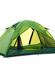 cheap -Naturehike 2 person Backpacking Tent / Fold Tent Single Poled Dome Camping Tent Outdoor Portable, Rain-Proof, Well-ventilated for Hunting / Hiking / Camping Silicone, Canvas, Aluminium / Windproof