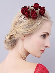 veludo liga flores barrette cabelo clip headpiece estilo elegante