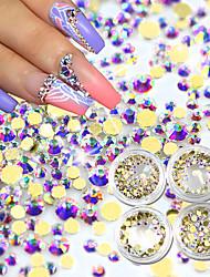 Χαμηλού Κόστους -1set Στρας τέχνη νυχιών Μανικιούρ Πεντικιούρ Καθημερινά Glitters / Neon & Bright / Μοντέρνα