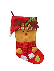 cheap -Christmas Toys Gift Bags Toys Santa Suits Elk Snowman Textile 3 Pieces