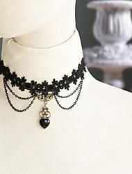 Lolita Jewelry Gothic Lolita Sweet Lolita Classic/Traditional Lolita Punk Lolita Wa Lolita Sailor Lolita Necklace Vintage Inspired Sexy