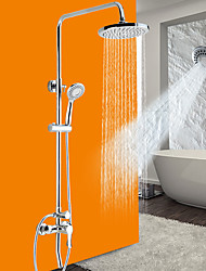 cheap -Luxury New Arrival  Rainfall Shower Set Faucet  Tub Mixer Tap  Hand Held Shower Bath And Shower Faucet