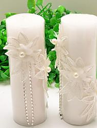 Kerzengeschenke-2 Stück / Set Kerzen Nicht-individualisiert Weiß