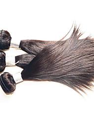Недорогие -Натуральные волосы Пряди натуральных волос Реми Прямой Бразильские волосы 1000 g Более года
