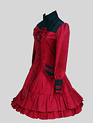Lolita Classique/Traditionnelle Rococo Femme Une Pièce Robes Cosplay Manches Longues