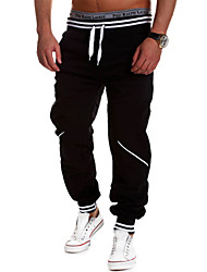 Men's Running Pants Moisture Permeability Breathable Comfortable Pants / Trousers Tracksuit Bottoms for Yoga Exercise & Fitness Racing