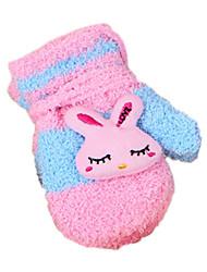 Girls' Gloves,Winter Cotton
