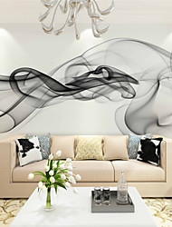 cheap -JAMMORY Art DecoWallpaper For Home Wall Covering Canvas Adhesive required Mural Smoke background XL XXL XXXL