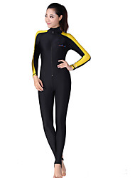 cheap -Dive&Sail Women's Dive Skin Suit Waterproof Thermal / Warm Ultraviolet Resistant Wearable Comfortable Full Body Tactel Elastane Long