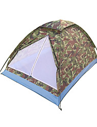 baratos -2 Pessoas Tenda Único Barraca de acampamento Um Quarto Prova-de-Água Portátil A Prova de Vento Á Prova-de-Pó Anti-Insectos Dobrável