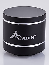 nouvelle d5 Adin mini-portable 15w bluetooth vibration haut-parleur de 3,5 mm audio in / out BT4.0 sans fil vibrant haut-parleur avec