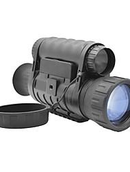 Недорогие -6X50 мм Монокль Очки ночного видения Водонепроницаемый Ночное видение Армия Армия Для охоты BAK4 Полное многослойное покрытиеИнфракрасная