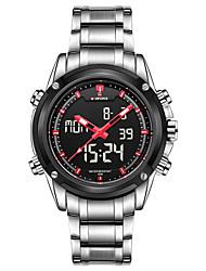 Herre Sportsur Militærur Kjoleur Modeur Armbåndsur Digital Watch Quartz Digital Kalender Legering Bånd Vedhæng Luksus Vintage Afslappet