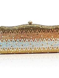 お買い得  -女性用 バッグ PU イブニングバッグ のために イベント/パーティー オールシーズン ゴールド グリーン ピンク