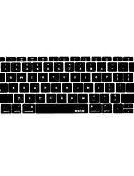 abordables -XSKN languag anglais peau de clavier en silicone pour 2016 publié non-touch version bar nouveau macbook pro 13,3 layout