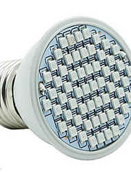 cheap -2.5W 260 lm E26/E27 Growing Light Bulbs 60 leds SMD 2835 Blue Red AC 85-265V