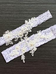 billige -Blondelukning Klassisk Mode Bryllup Garter  -  Bjergkrystal Blonde Strømpebånd