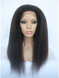 Lace Front Human Hair Wigs Brazilian Kinky Straight Italian Yaki Huaman Hair Full Lace Wigs & Front Lace Wigs for Black Women