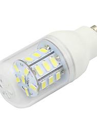 cheap -1pc 3W 190 lm GU10 LED Corn Lights T 27 leds SMD 5730 Decorative Warm White Cold White DC 12-24V AC 220-240V