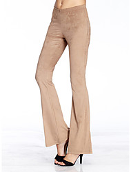 cheap -HEART SOUL Women's Casual Bootcut Pants - Solid Colored
