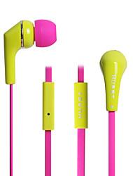neutrální zboží HST-15 Sluchátka do ušních kanálkůForPřehrávač / tablet Mobilní telefon PočítačWiths mikrofonem DJ FM rádio Hraní her