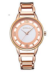 Women's Fashion Watch Dress Watch Wrist watch Quartz Japanese Quartz Water Resistant / Water Proof Stainless Steel Band Elegant Silver