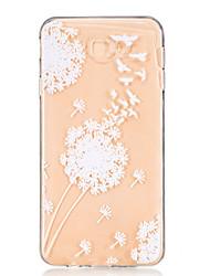 cheap -For Samsung Galaxy J7 Prime J5 Prime J710 J510 J5  J310 J3  TPU Material Flying Geese Pattern Wave Pattern Non-Slip Painting Phone Case