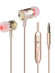 neutrální zboží KDK-203 Sluchátka do ušních kanálkůForPřehrávač / tablet Mobilní telefon PočítačWiths mikrofonem DJ FM rádio Hraní her
