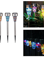 Household Solar Intercalation Lights Solar Mosaic Lights Outdoor Courtyard Night Lights