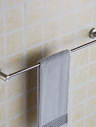 cheap -Creative Wall Mounted Single Towel Bar Stainless Steel Bathroom Bath Towel Rod